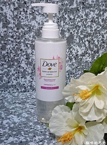 多芬日本植萃柔順保濕洗髮露DSC_5407.jpg