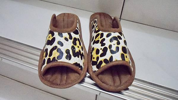 豹紋室內鞋