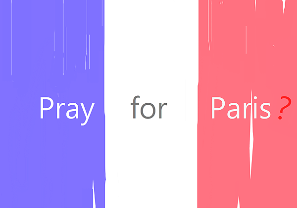 pray for paris?