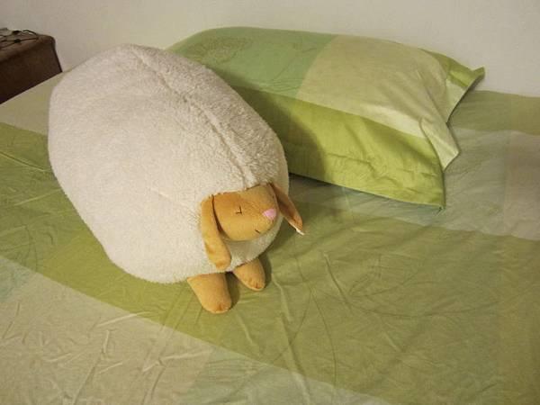 和我的新床套很相配呢