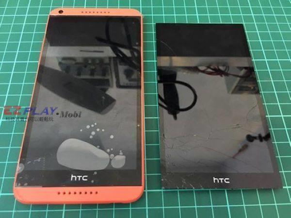 HTC 816面板破裂就換面板