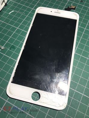 (IPHONE6+)面板破裂