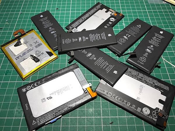 各大廠牌電池更換