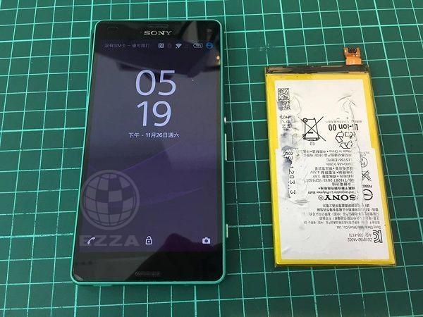 Sony Z3C一直自動關機