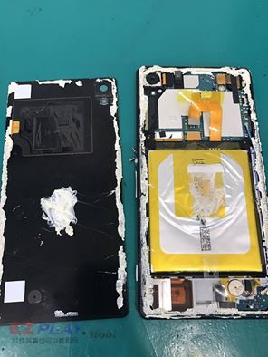 SONY Z2本來是要更換電池