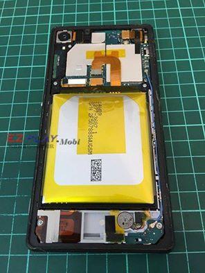 Sony Z2電池嚴重膨脹