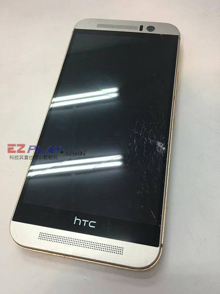 HTC M9蜘蛛網面板n