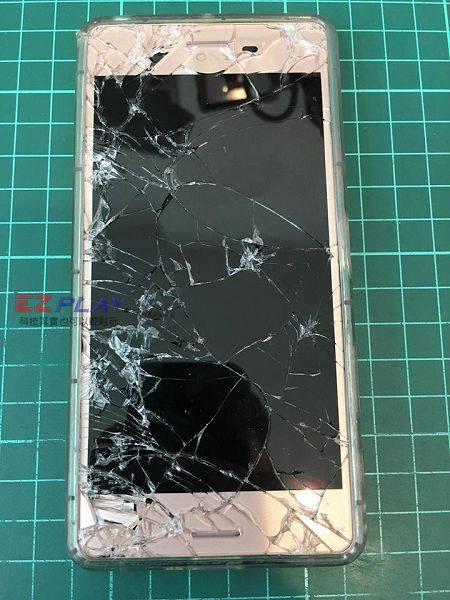 Sony XP面板破裂