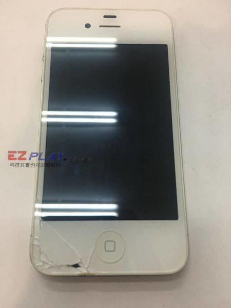 iphone4S面板破裂