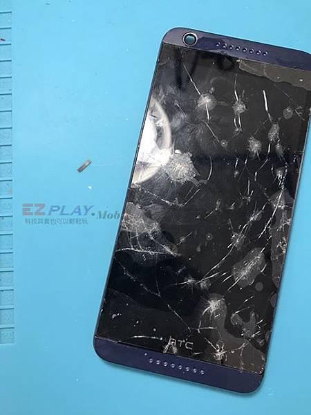 天啊HTC 626慘摔了