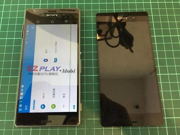 Sony Z3更換面板
