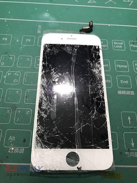 6S面板破裂n