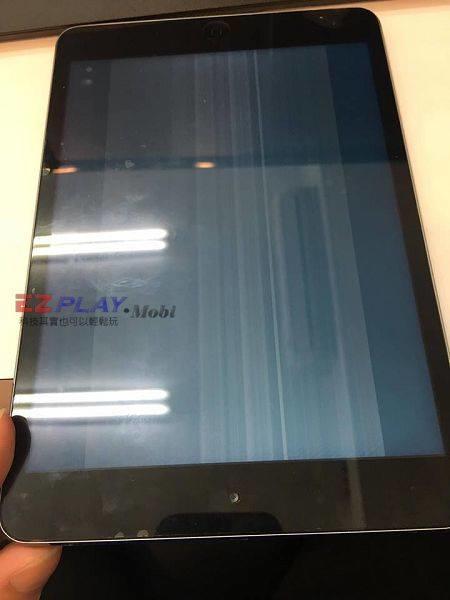 iPad mini畫面顯示異常