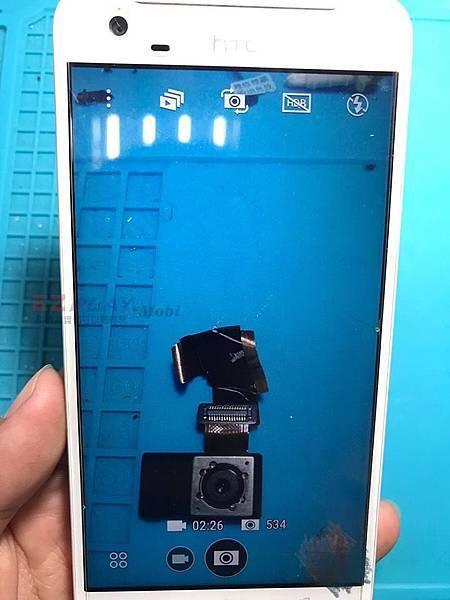 HTC X9相機失焦了