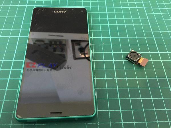 Sony Z3C更換相機