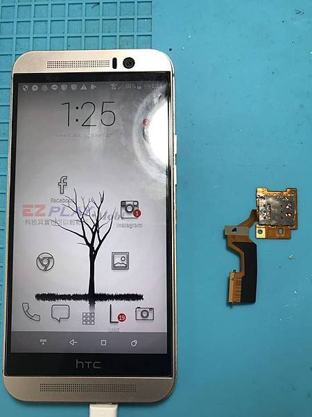 HTC M9 SIM卡讀不到