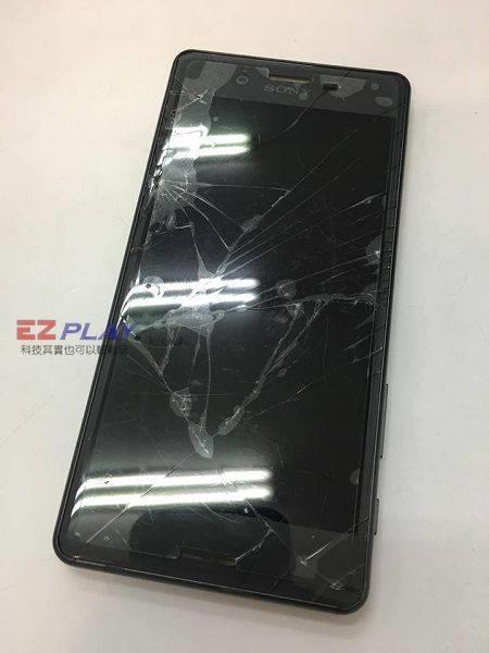 Sony X面板破裂