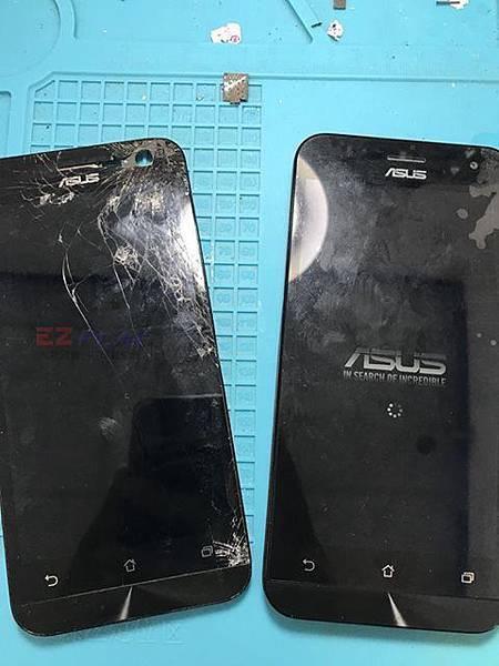 5吋華碩ZenFone2摔爆了