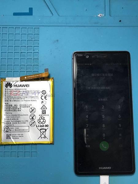 華為手機在台灣雖不是多數