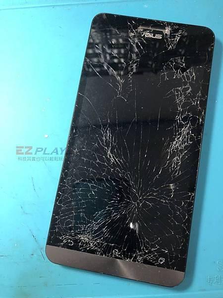 Zenfone 6佈滿蜘蛛網