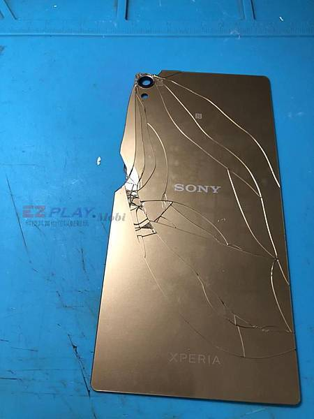 SONY Z5P背蓋破裂了