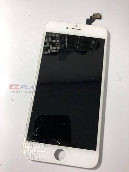 IPHONE6+面板破裂了