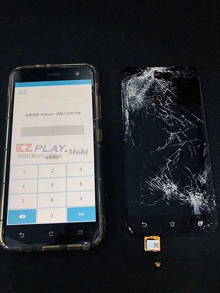 看看這台悲劇的ZenFone3