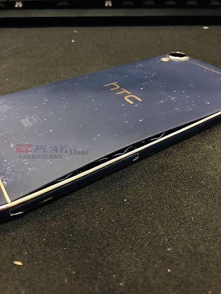 HTC D10電池膨脹