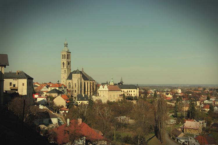 捷克蜜月聖芭芭拉大教堂