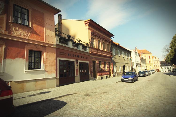 捷克蜜月塔拉小鎮