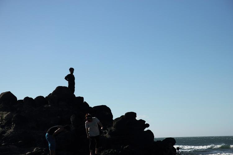 北海岸石門洞
