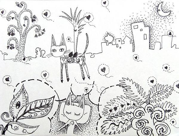 貓咪的奇幻旅程