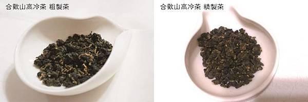 貓茶坊- 合歡山高冷茶 對比
