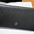 Chanel雙C圓扣壓紋皮夾