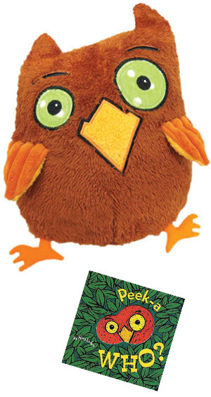 Peek-A-Who? Owl Doll with board book NT$886 有兩組(是玩偶,不是手偶)