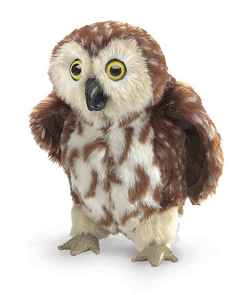 Saw-Whet Owl Hand Puppet NT$924 有兩隻