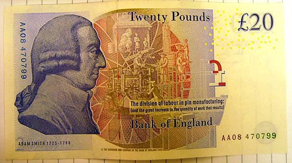 20鎊紙鈔