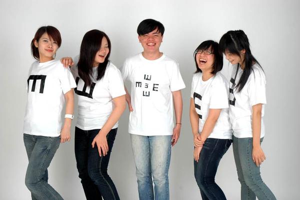 [瞳話設計]左至右>曹瑜珊;邱婉婷;莊英豪;李詩瑜;王少君