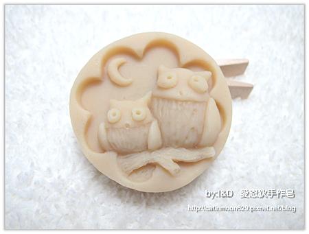 玫瑰緊緻嫩白皂-貓頭鷹