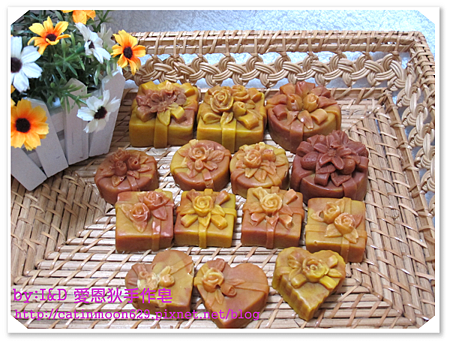 台中孟芷媽咪-玫瑰紅棕修復皂