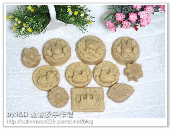 台中孟芷媽咪2次代製-綠豆薏仁淨白皂
