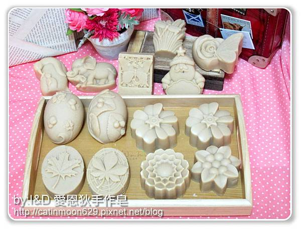 高雄佳雯媽咪-玫瑰緊緻嫩白皂-造型