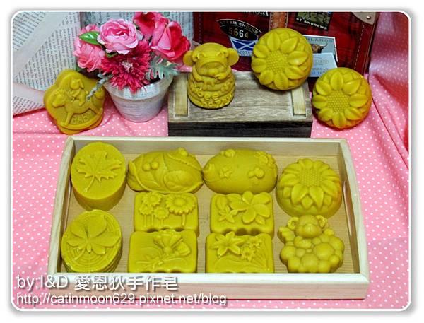 高雄佳雯媽咪-燕麥舒緩寶貝皂-造型