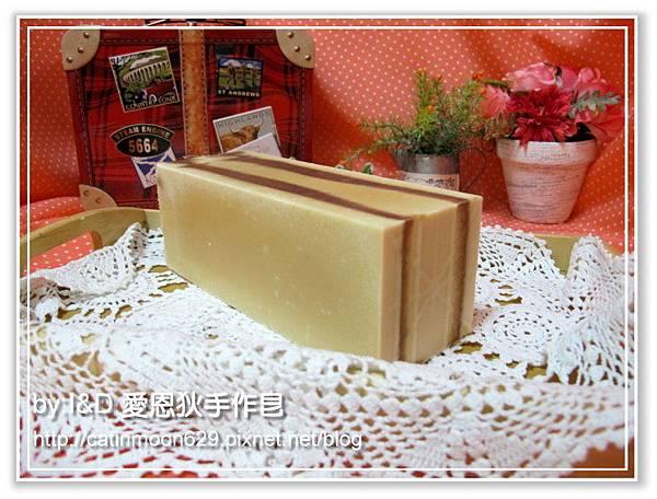 台南雨吟媽咪5次代製-巧克力戀人潤膚皂磚