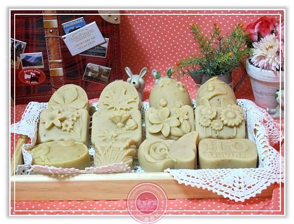 苗栗經祐爸比-綠豆薏仁淨白皂1