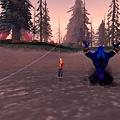 藍胖:主人,妳不要在釣魚了啦!吼~~