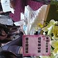 8/13金石堂簽名會,出版社送的花