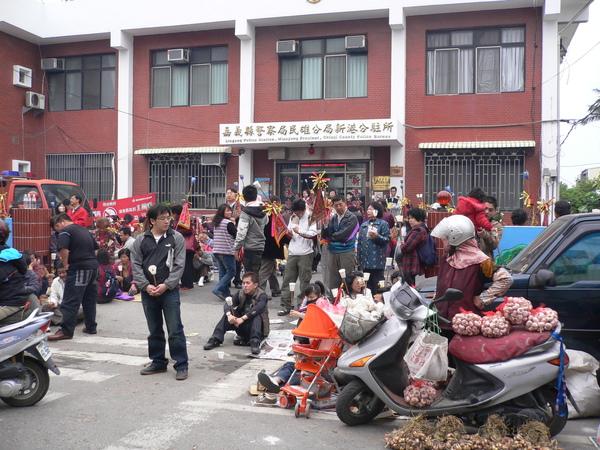 祭祖大典/警察局前的街景