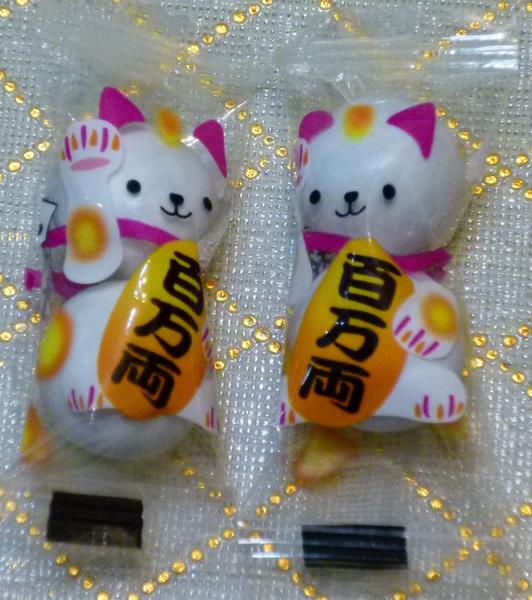 讀者的愛心禮物:貓咪糖果