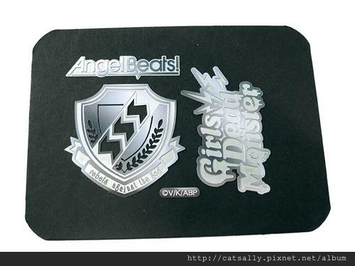 天使的脈動 Angel Beats! 金屬標貼 (1).JPG